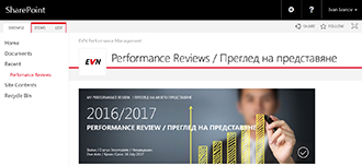 EVN Performance Review Portal